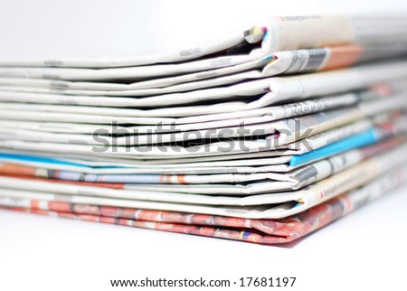 Pile of newspapers (DOF)