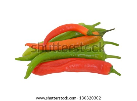 Pile of  peppers