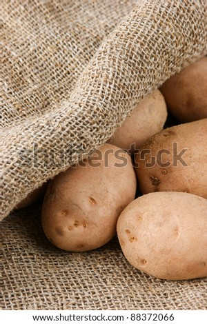 pile of potatoes