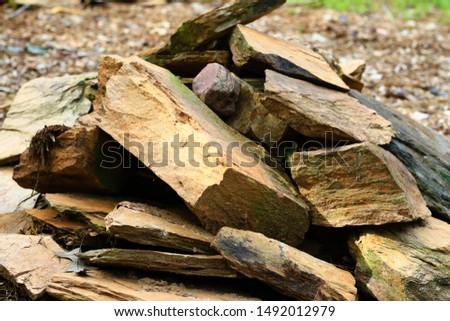 pile of rocks pile of stones