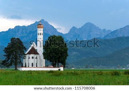 Pilgrimage church Saint Coloman Schwangau