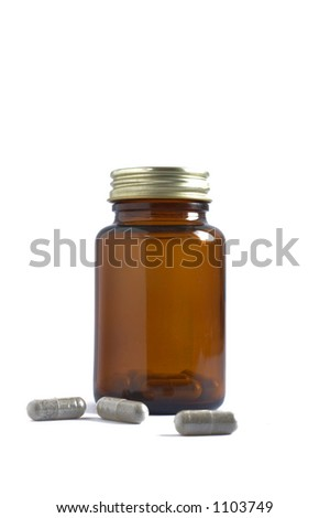 Pill Bottle & Scattered Pills