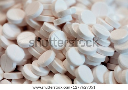 Pill, Capsule, Circle, Medicine, Single Object #1277629351