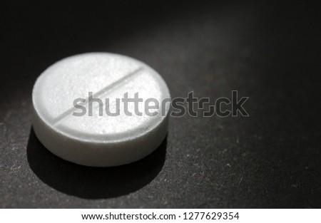 Pill, Capsule, Circle, Medicine, Single Object #1277629354
