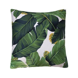 pillow cushion isolated on white background. Details of modern boho, bohemian, tropical and scandinavian style. eco design interior