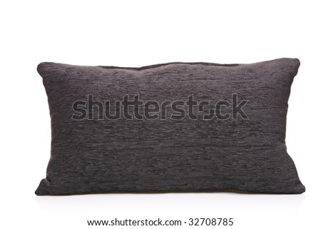 Pillow isolated against white background