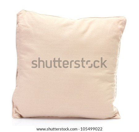 pillow isolated on white