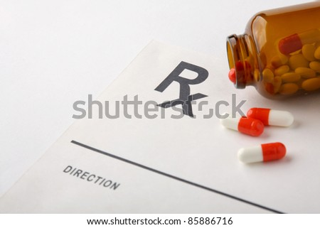 Pills, capsules and Rx