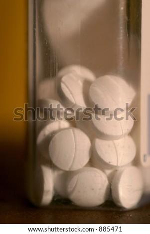 pills in bottle