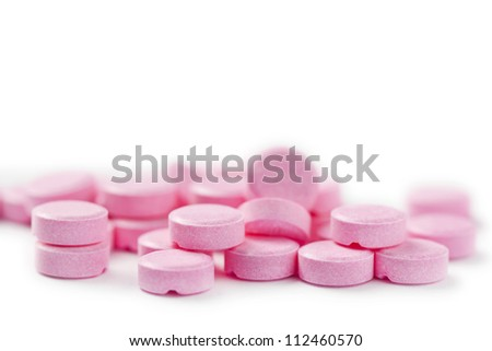 pills medical isolated