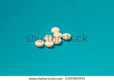 Pills, medicines, homeopathic medicines for flu, colds.