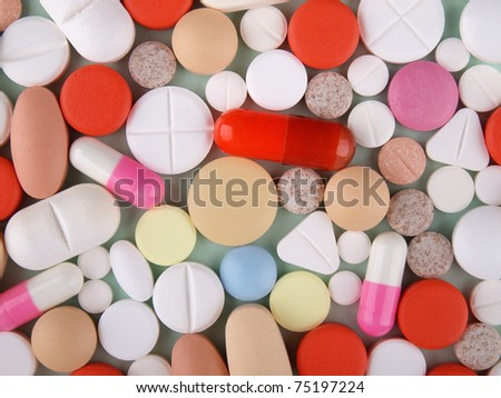 Pills,  tablets and capsules