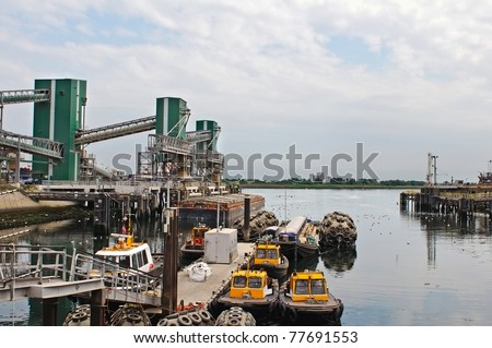 pilot boats in harbor