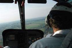 Pilot in heli