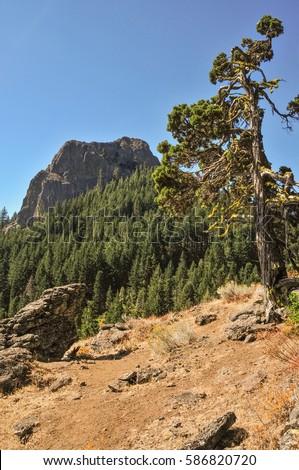 Pilot Rock / Cascade Siskiyou National Monument, Oregon USA