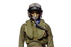 pilot suit or cockpit for jet engines