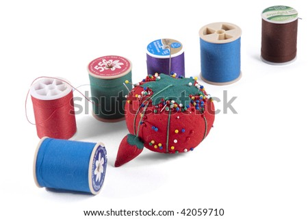 Pin Cushion and Thread