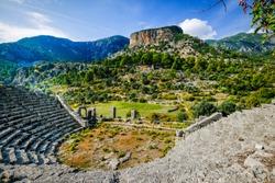Pinara Ancient Lycian City near Fethiye