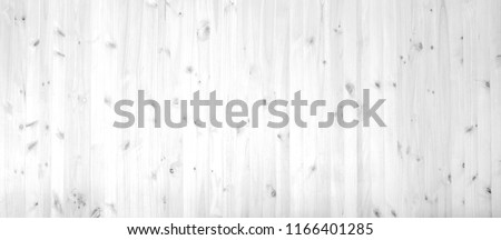 Pine wood texture on wooden wall, faded black & white photo of real softwood pattern as background, overlay template for art work