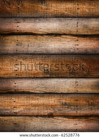 Pine wood textured background - stock photo