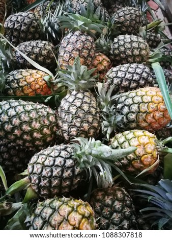 Pineapple delicious fruits best for health.