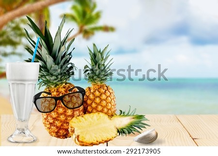 Pineapple, Fruit, Isolated. #292173905