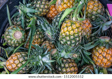 pineapple fruits , raw fruits for healty fruits for diet