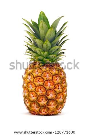 Pineapple isolated ストックフォト ©