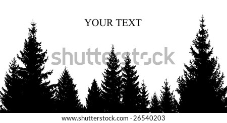 pinetree silhouette