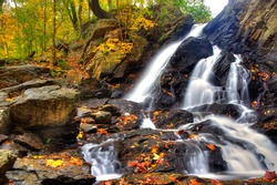 Piney Run Falls near Harpers Ferry West Virginia