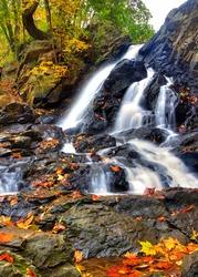 Piney Run Falls near Harpers Ferry West Virginia