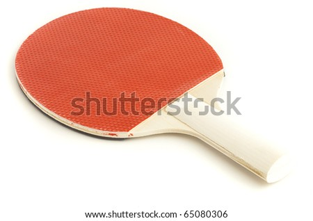 ping pong isolated on a white background