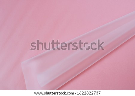 Pink Abstract Composition, copy space