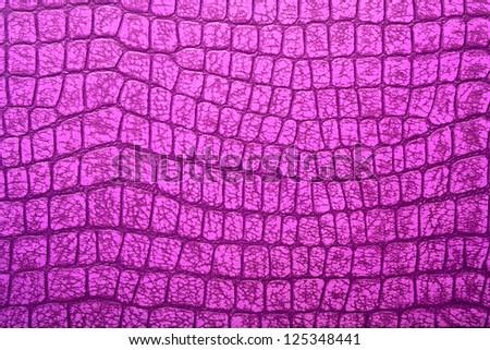 Pink alligator patterned background