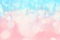 pink and blue color tone gradient with abstract bokeh light backgrounds