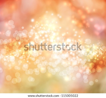 Pink and Orange Colored Abstract Lights Background