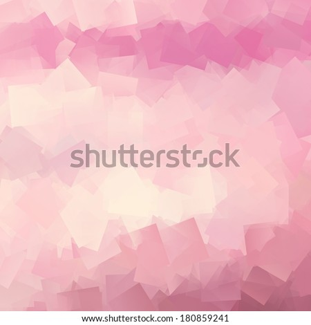 pink and white abstract background square sheets of paper texture