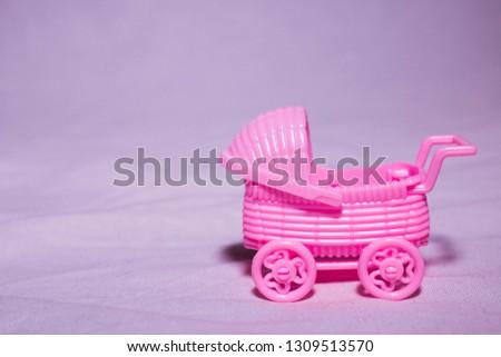 pink baby stroller basket infant carrier
