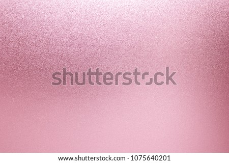 Pink background glitter sparkle abstract light bright silver texture. Gold rose for shiny luxury christmas or valentine.