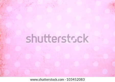 pink background with grunge frame