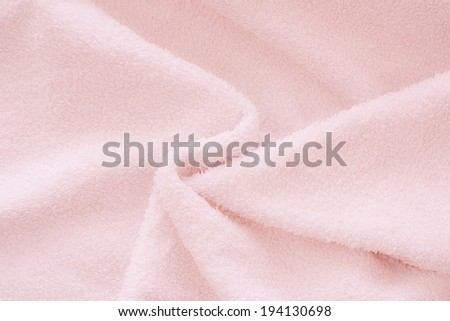 pink bath towel #194130698