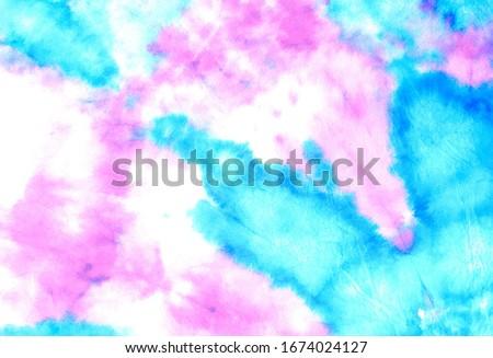 Pink Beautiful Decoration Image. Pink Modern Watercolour Fabrics. Tie Dye Wet Brush Art. Tie Dye Painting Cloth Art. Hard Grunge Boho Tie Dye. Pink Ikat Ornamental Dyes.