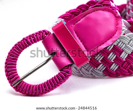 Pink belt strip