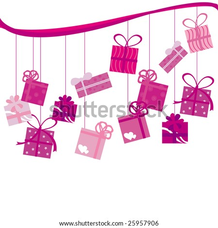 http://image.shutterstock.com/display_pic_with_logo/285859/285859,1236070763,20/stock-photo-pink-birthday-present-25957906.jpg