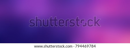 Pink, blue, purple, violet gradient blurred banner. Empty romantic background. Abstract texture.