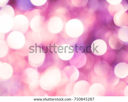 Pink Bokah Christmas Lights Abstract Background Texture