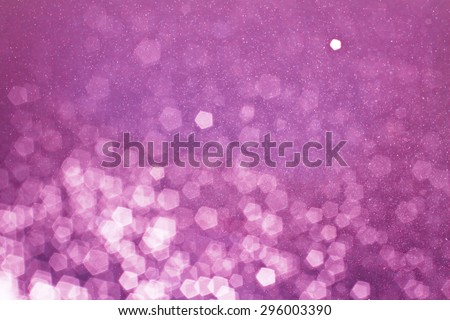 Pink bokeh and my idea pink glitter background