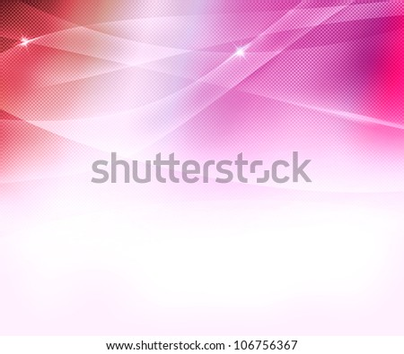 Pink Business Abstract Background - stock photo