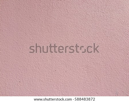 Pink cement wall background for texture design #588483872
