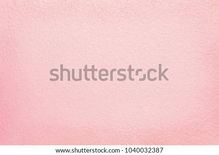 Pink cement wall texture for background and design art work. - Shutterstock ID 1040032387